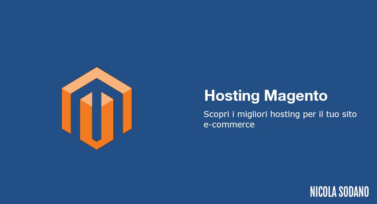 Miglior hosting Magento
