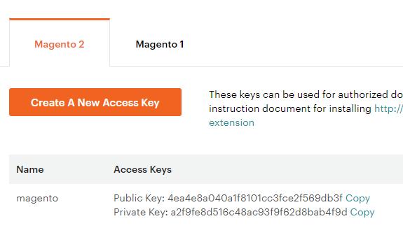 marketplace chiavi di accesso